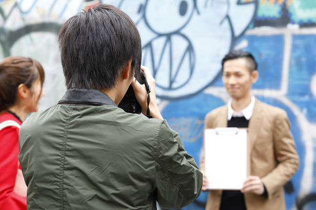 カメライターが取材撮影をするケース