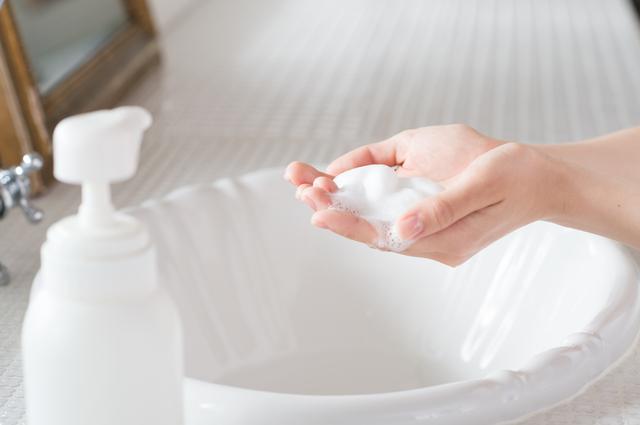 出社時、帰社時の手洗い&うがい