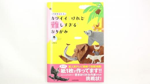 [実績紹介]おりがみ王子の カワイイ!けれど難しすぎるおりがみ/KADOKAWA